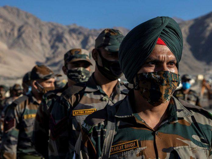 Ķīna izslēdz pandžabu numurus Indijas karavīriem Ladakā. Tas ir triks '62